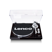 Lenco LBT-188 Belt-drive audio turntable Walnut