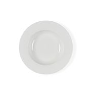 BITZ 821086 dining plate Soup plate Round Porcelain White