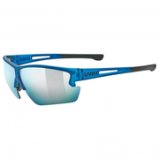 Uvex sportstyle 812 Cycling glasses Rimless Blue