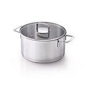 BEKA 13811244 soup pot Stainless steel Glass, Stainless steel