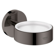 GROHE 40369A01 soap dish Black, White