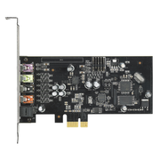ASUS Xonar SE, 5.1 channels, Internal, 24 bit, 116 dB, PCI-E