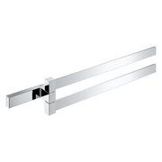 GROHE SELECTION CUBE DOUBLE TOWEL BAR