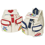 Goki 15042 backpack Blue, Red, White