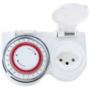 Elektro-Material 04.5010 electrical timer White Daily timer