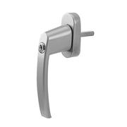 Olympia FGS 100 Window locking handle Silver
