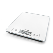 Soehnle Page Comfort 400 White Countertop Square Electronic kitchen scale