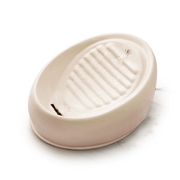 Lucky-Kitty 158 Ceramic Beige Cat Automatic pet waterer