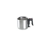 ELO 99414 soup pot 1.5 L Black, Stainless steel Stainless steel