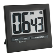 TFA-Dostmann 38.2013.01 Digital kitchen timer Black