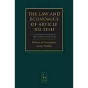 ISBN The Law and Economics of Article 102 TFEU