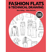 ISBN Fashion Flats and Technical Drawing (Bundle Book + Studio Access Card)
