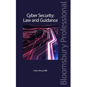 ISBN Cyber Security: Law and Guidance