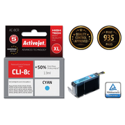 Activejet ink for Canon CLI-8C
