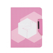 "T'nB UTAB360FLA tablet case 25.4 cm (10"") Folio Pink, White"