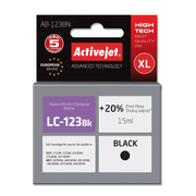 Activejet ink for Brother LC123Bk/LC121Bk