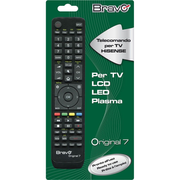 Bravo Original 7 remote control IR Wireless TV Press buttons