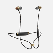 The House Of Marley Uplift 2 Headset In-ear Bluetooth Black, Brass