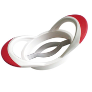 Westmark 51642270 shaped food cutter Red, White Plastic, Stainless steel