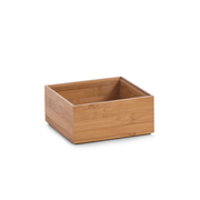 Zeller Present 13330 storage box Storage tray Square Bamboo