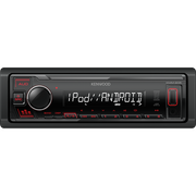 Kenwood KMM-205 car media receiver Black 50 W