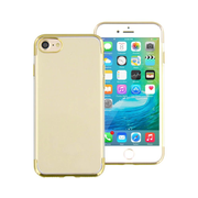 "T'nB SOCIPH7GD mobile phone case 11.9 cm (4.7"") Cover Gold"