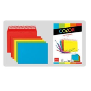Elco 74634.00 envelope Paper Blue, Green, Orange, Red, Yellow