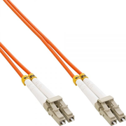 InLine 4043718062331 fibre optic cable 3 m LC LSZH OM2 Orange