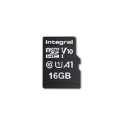 Integral 16GB MICRO SD CARD MICROSDHC UHS-1 U1 CL10 V10 A1 UP TO 100MBS READ