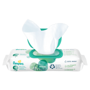 Pampers Baby Wipes Aqua Pure 1 Packs = 48 Wipes