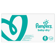 Pampers 81663723 disposable diaper Boy/Girl 6 124 pc(s)