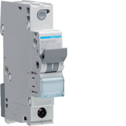 Hager MCS013C, Miniature circuit breaker, IP20