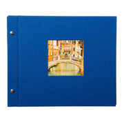 Goldbuch Bella Vista photo album Blue 40 sheets Case binding