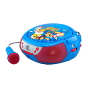 ELKU PW-430 CD-Player Tragbarer CD-Player Blau, Rot