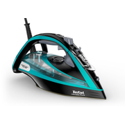 Tefal Ultimate Pure FV9844 iron Dry & Steam iron Durilium Autoclean soleplate 3200 W Black, Blue