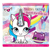 Crayola Unicorn Fantasy Portfolio Sketch Set