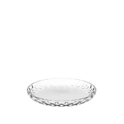 LEONARDO Cucina Round Glass Transparent