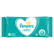 Pampers Sensitive Baby Wipes 1 Packs = 12 Wipes