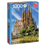 Premium Collection Sagrada Familia View, Barcelona 1000 pieces