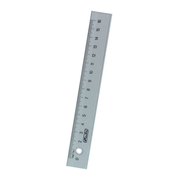 Herlitz 8700601 ruler Desk ruler 16 cm Plastic Transparent 1 pc(s)