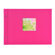Goldbuch Bella Vista photo album Pink 40 sheets Case binding