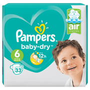 Pampers 81663648 disposable diaper Boy/Girl 6 33 pc(s)