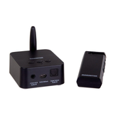 Marmitek Audio Anywhere 725 AV transmitter & receiver Black