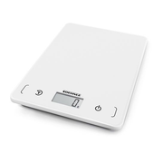 Soehnle Page Compact 200 White Countertop Rectangle Electronic kitchen scale