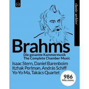 Warner Music Euroarts - Classic Archive Collector's Edition Johannes Brahms – Complete Chamber Music, BluRay Blu-ray