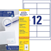 Avery Zweckform 3659-200 self-adhesive label Rectangle Permanent White 2640 pc(s)