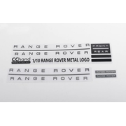 RC4WD Metal Emblem Set for JS Scale 1/10 Range Rover Classic Body