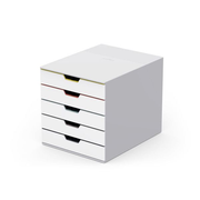 Durable VARICOLOR Mix 5 file storage box Plastic Multicolour, White