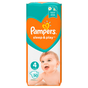 Pampers 81664438 disposable diaper Boy/Girl 4 50 pc(s)