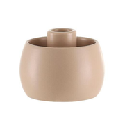 A Simple Mess 963903 candle holder Stoneware Sand